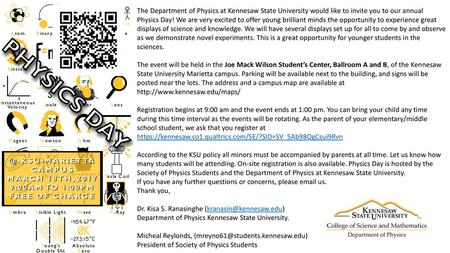 The Department of Physics at Kennesaw State University would like to on k-state map, emporia state university campus map, ferris state university campus map, murray state university campus map, msm campus map, louisiana state university campus map, kent state campus map, ash campus map, kennesaw state university map, adams state university campus map, wright state lake campus map, kysu campus map, kansas state campus map, csc campus map, bemidji state university campus map, nsc campus map, kennesaw state campus map, kentucky state university map, chs campus map, wichita state university campus map,