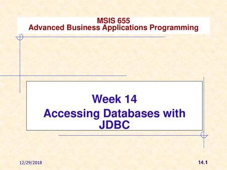 Servlets Database Access  Agenda:  Setup Java Environment