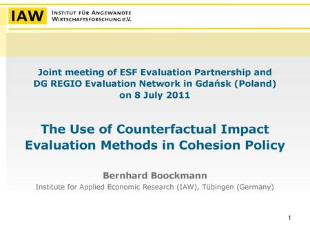 Impact evaluation of ALMPs in Macedonia: results and policy