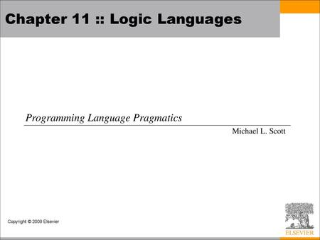 1 Logic Programming with Prolog: Resolution, Unification