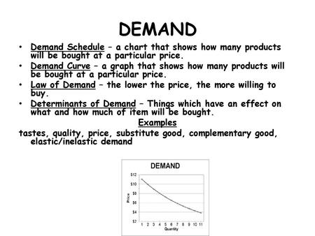 Supply and Demand: Changes in Equilibrium  Change in Market