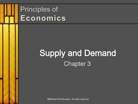 Chapter 3 Supply And Demand McGraw Hill Irwin Ppt Download