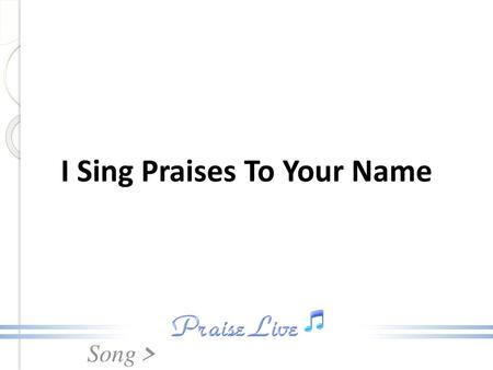 Bless the Lord, O my soul, O my soul - ppt video online download