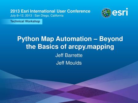 Python Map Automation: Introduction to arcpy mapping / arcpy mp