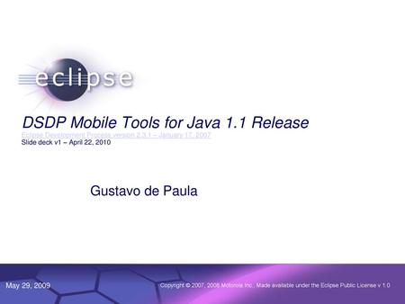 JavaFX Next Kevin Rushforth – Oracle Johan Vos – Gluon October ppt