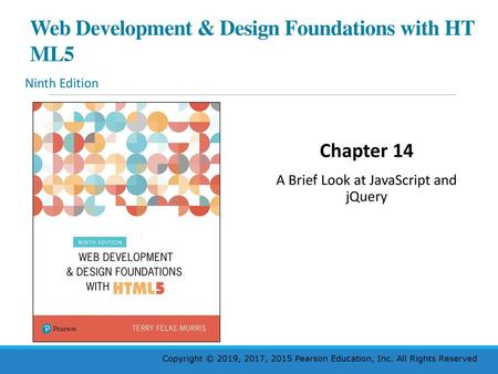 Web Development Design Foundations With H T M L 5 Ppt Download