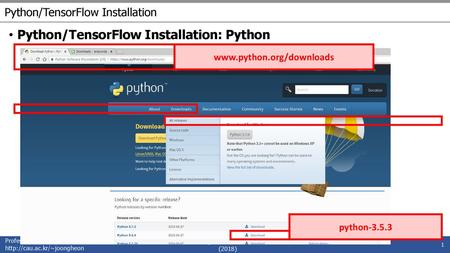 Installation Not just Python, but the scientific stack as