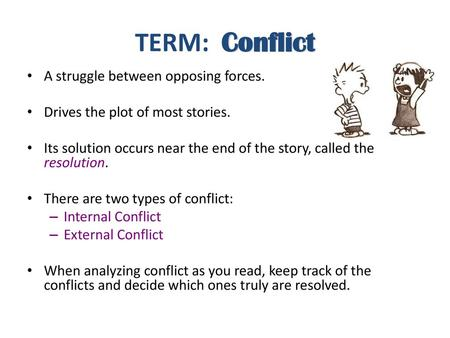 Internal and External Conflict in Literature - ppt video online download