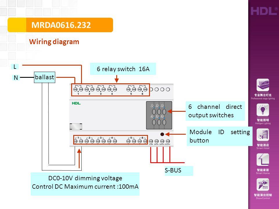 mrda wiring diagram sbus module id setting button ballast