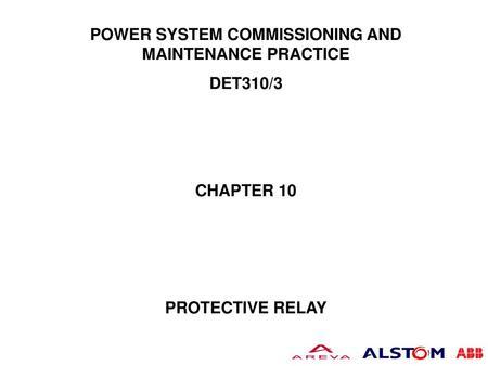 PROTECTION scheme for bus bar / feeder - ppt video online download