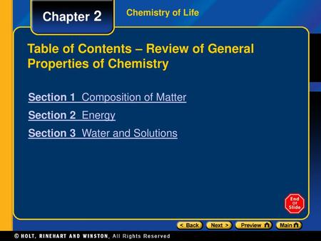 Chapter 2 Chemistry Of Life Ppt Video Online Download