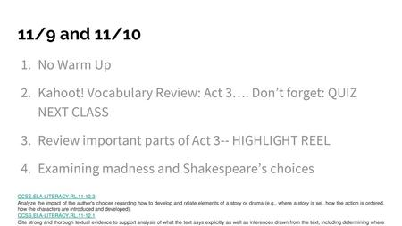 Module 1 Unit 1 Lesson 2 By William Shakespeare - ppt download