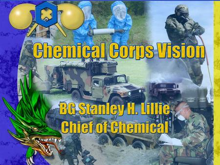 Agenda Commandant's Vision Recent Events The Army The
