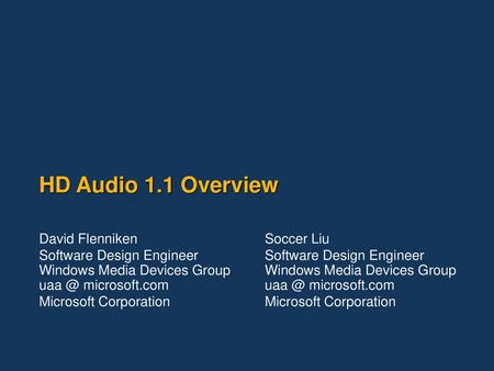 MICROSOFT QFE HD AUDIO WINDOWS 8 DRIVER DOWNLOAD