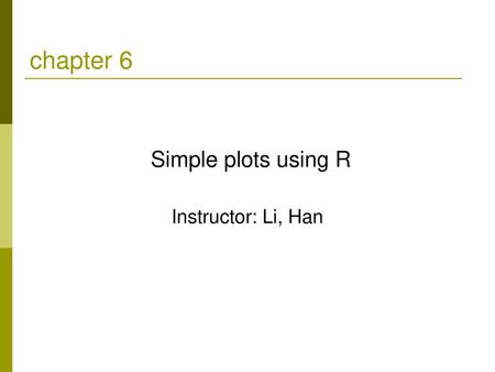 Data Visualization with R (II) - ppt video online download