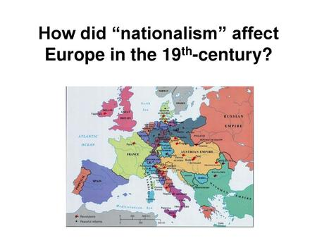 nationalism history definition