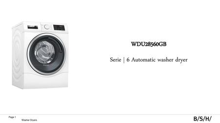 Product Introduction Combo Washer-Dryers March ppt download