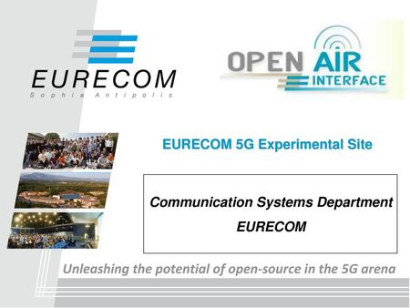 Opening 5G Prof  R  Knopp Communication Systems Dept - ppt video