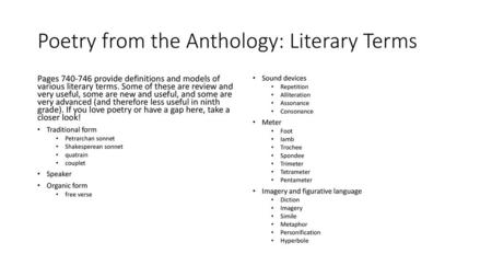 """Thesis Statement: In """"Poem Title Here,"""" author name here uses (or"""