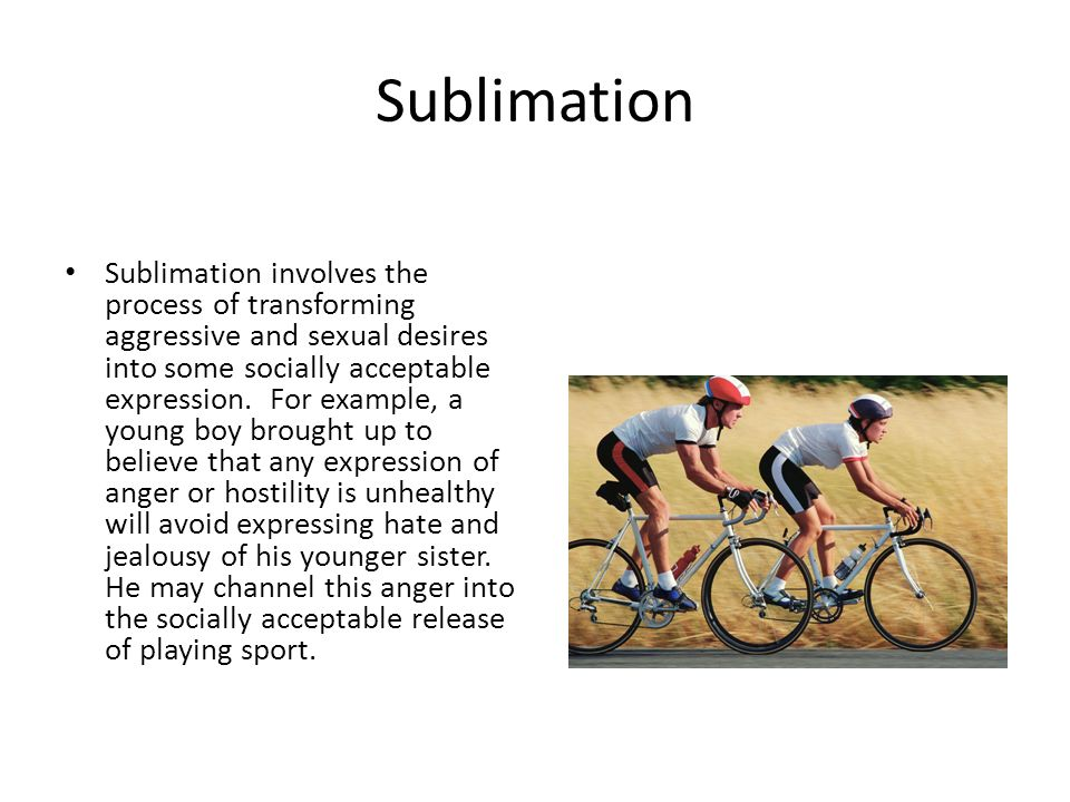 Example Of Sublimation In Psychology Image Collections Example