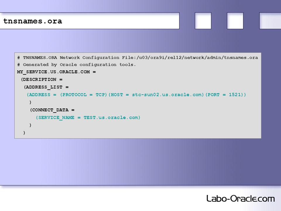 Basic Oracle Net Services Client-Side Configuration - ppt