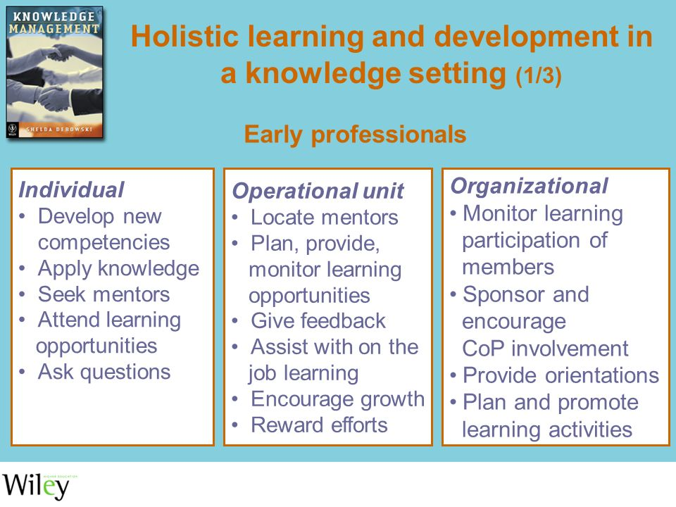 promote holistic development