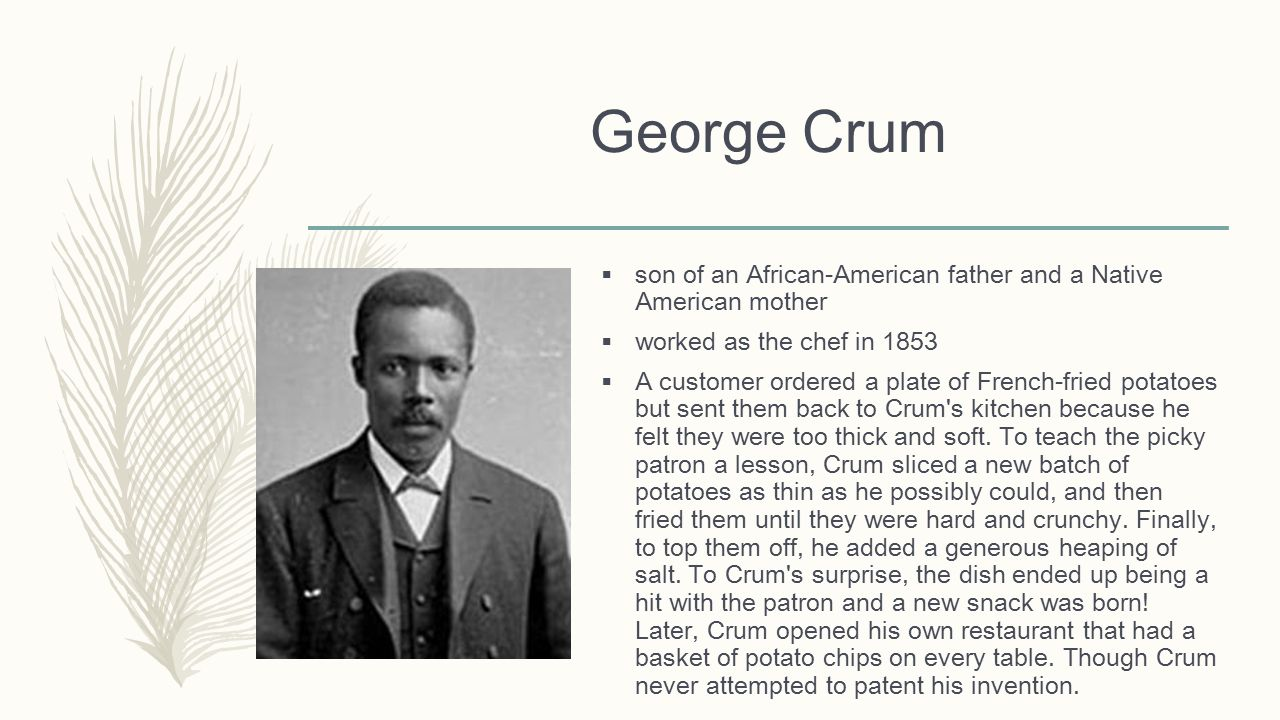 george crum born
