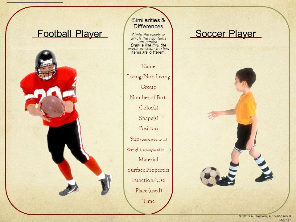 soccer and football similarities
