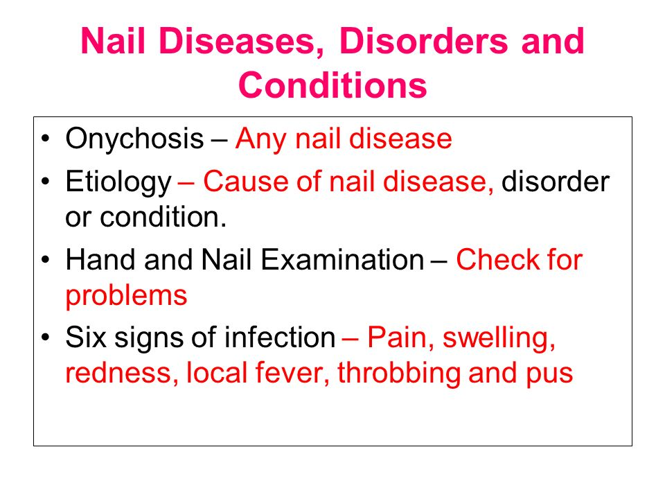 10 Nail Diseases Disorders And Conditions