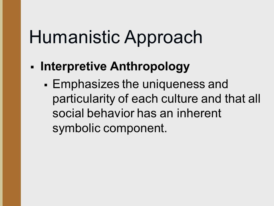 The Development Of Anthropological Thought Ppt Video Online Download