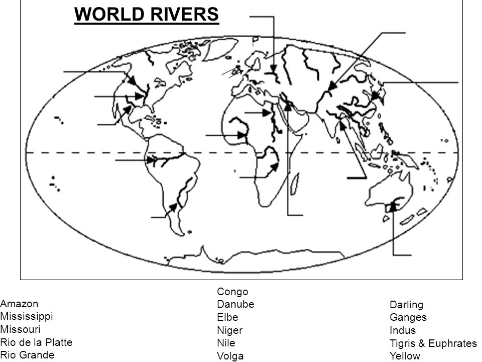 World Rivers Amazon River Congo River Danube River Indus Ganges