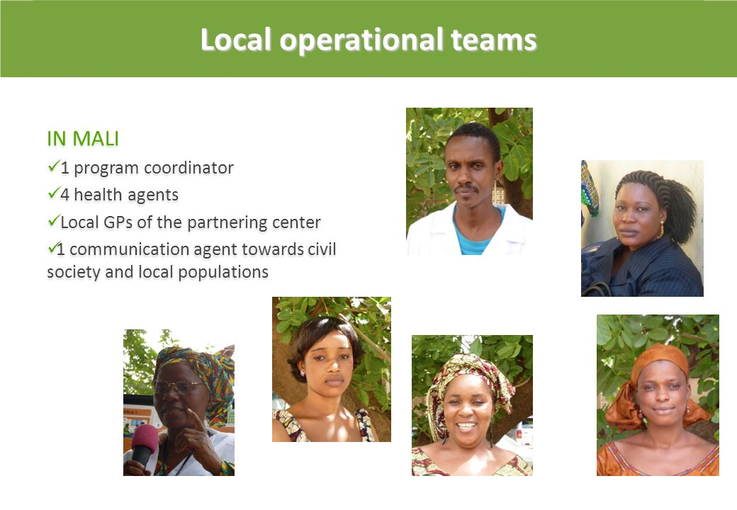 Local operational teams