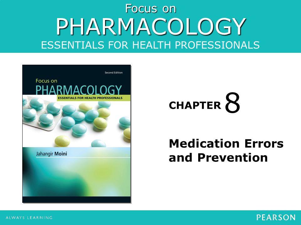 8 Medication Errors and Prevention