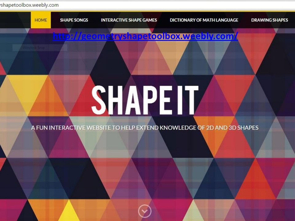 Geometry Shape Resource Kit - ppt download