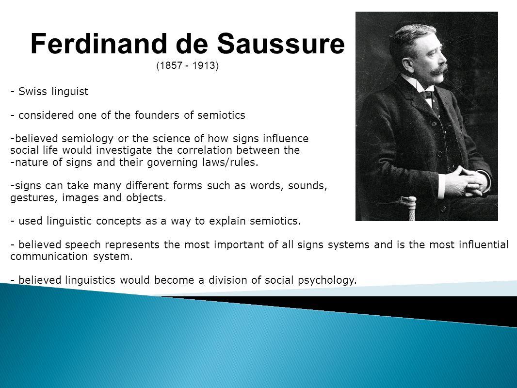 Ferdinand de Saussure, Swiss linguist: biography, works on linguistics 16