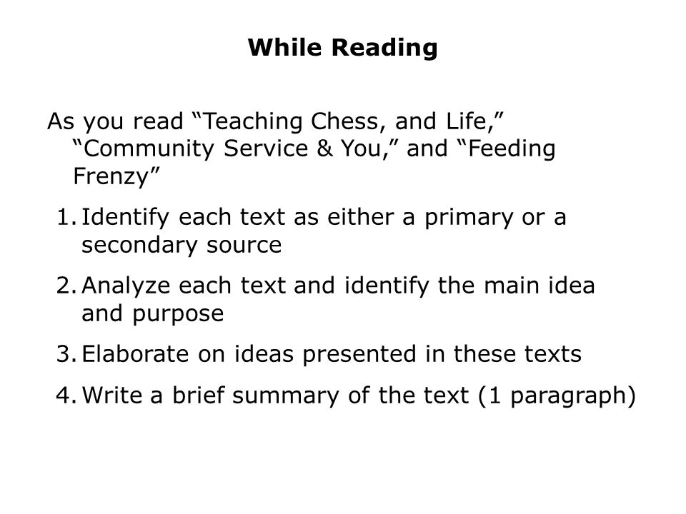 paragraph on chess
