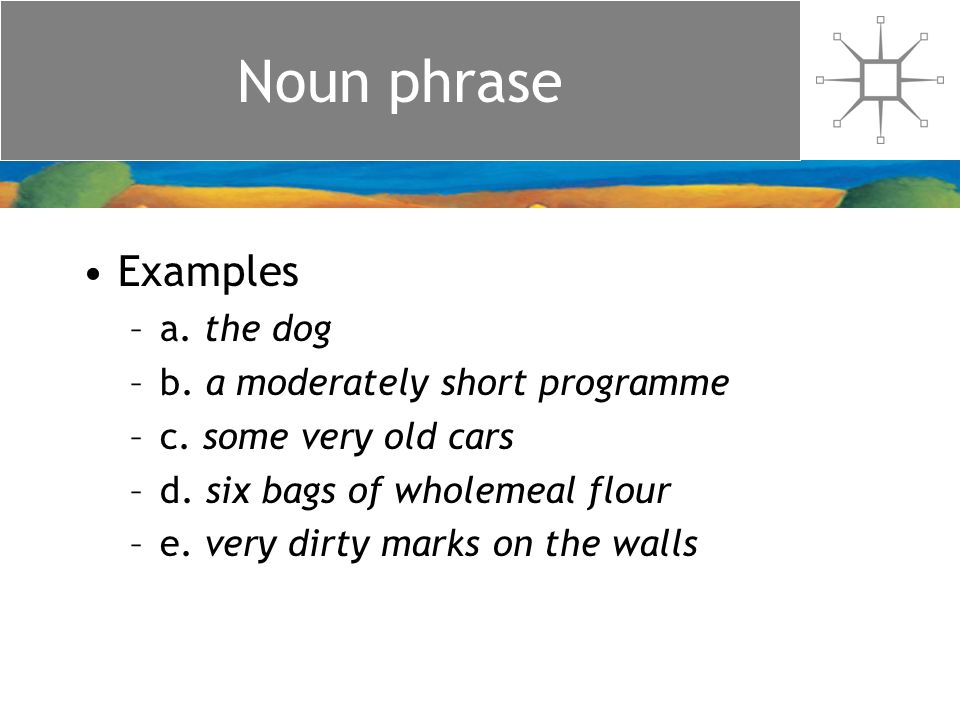 The structure of noun phrases - ppt download