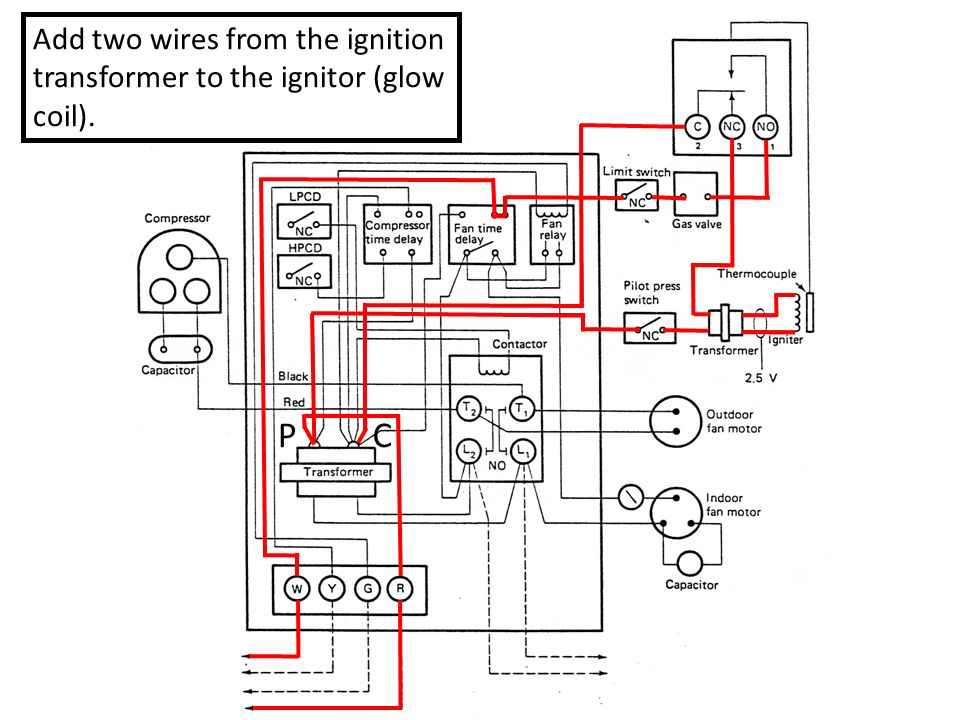 A6a to A6b Schematic Diagram to Pictorial Diagram - ppt ... Ignition Transformer Wiring Diagram on
