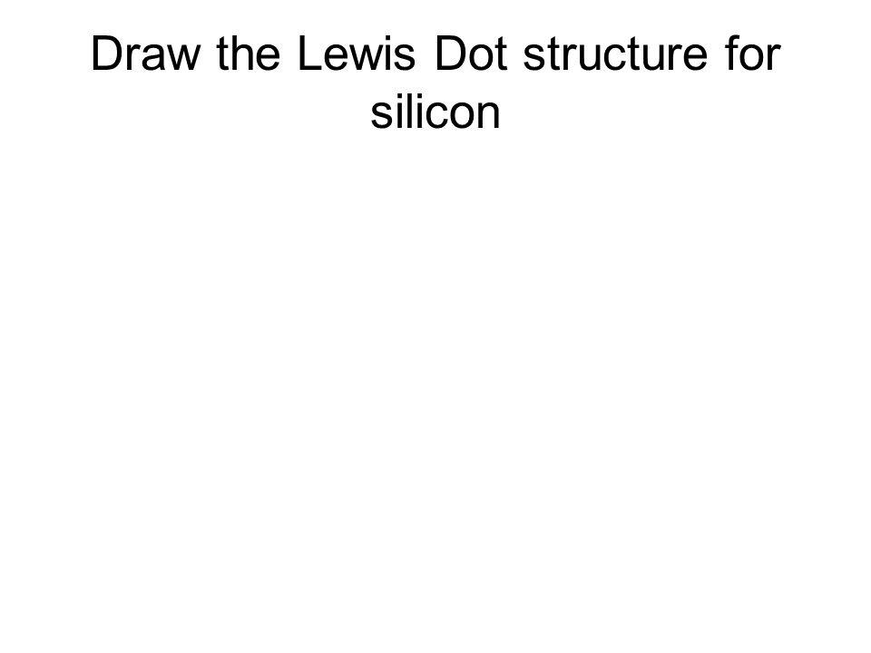 Si Electron Dot Diagram Silicon Element Electron Dot Diagram Wire