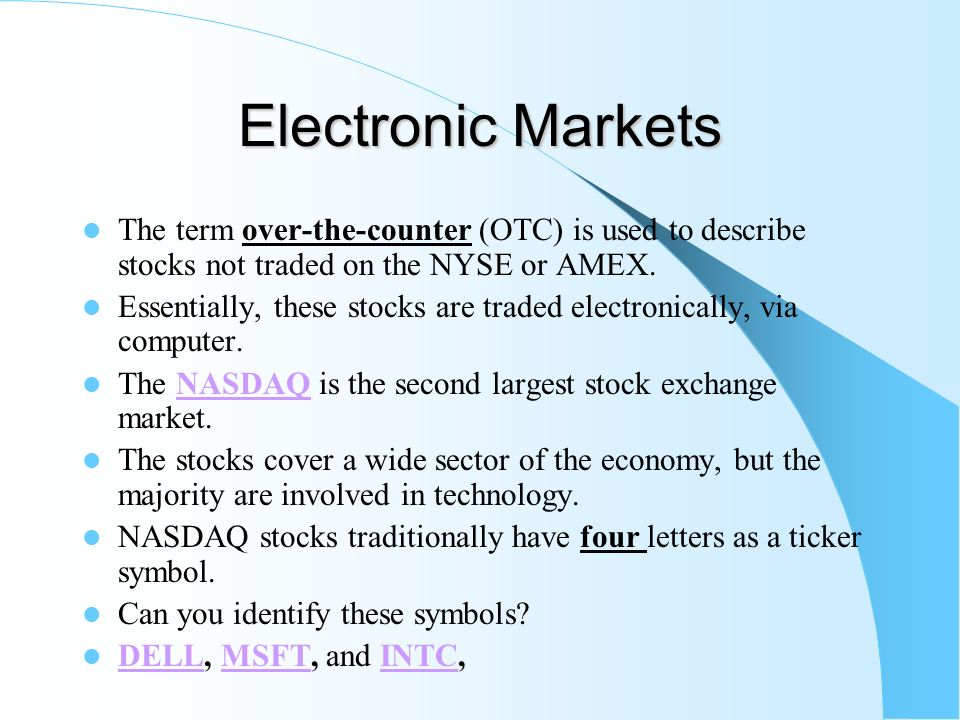 Chapter 11 Financial Markets Ppt Video Online Download