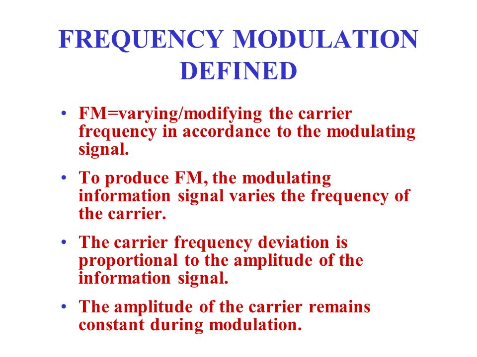 FREQUENCY MODULATION DEFINITION EPUB DOWNLOAD