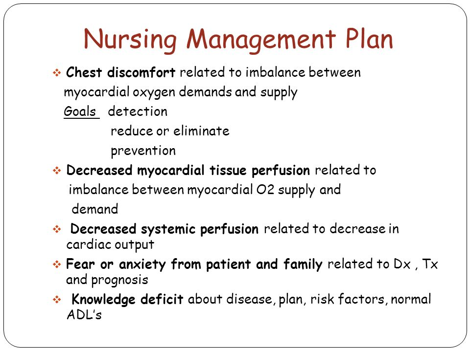 chest pain management nursing angina pectoris and acute coronary acs ppt 10554