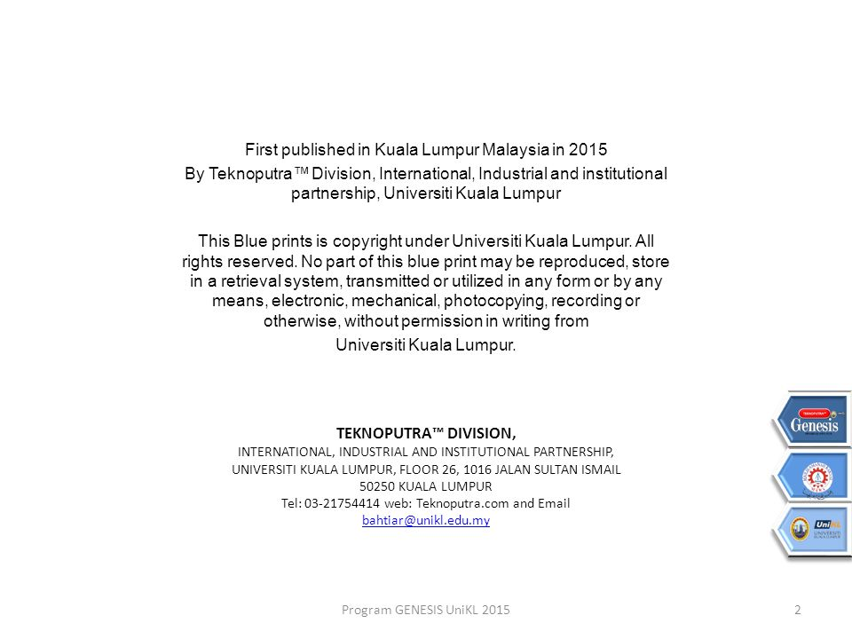Teknoputra blueprint strategy 1 outcome b ppt download first published in kuala lumpur malaysia in 2015 malvernweather Choice Image