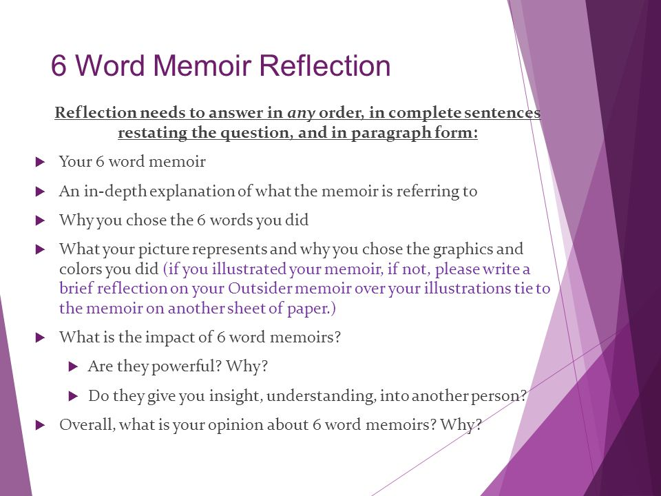 What Is A Memoir Literary Nonfiction Ppt Video Online Download