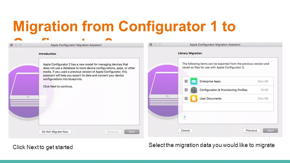Apple configurator 2 whats new in ppt video online download migration from configurator 1 to configurator 2 malvernweather Image collections