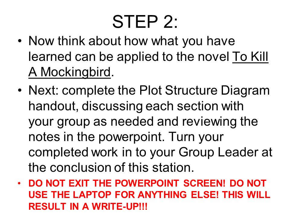 Plot structure narrative hook ppt video online download step 2 now think about how what you have learned can be applied to the ccuart Images