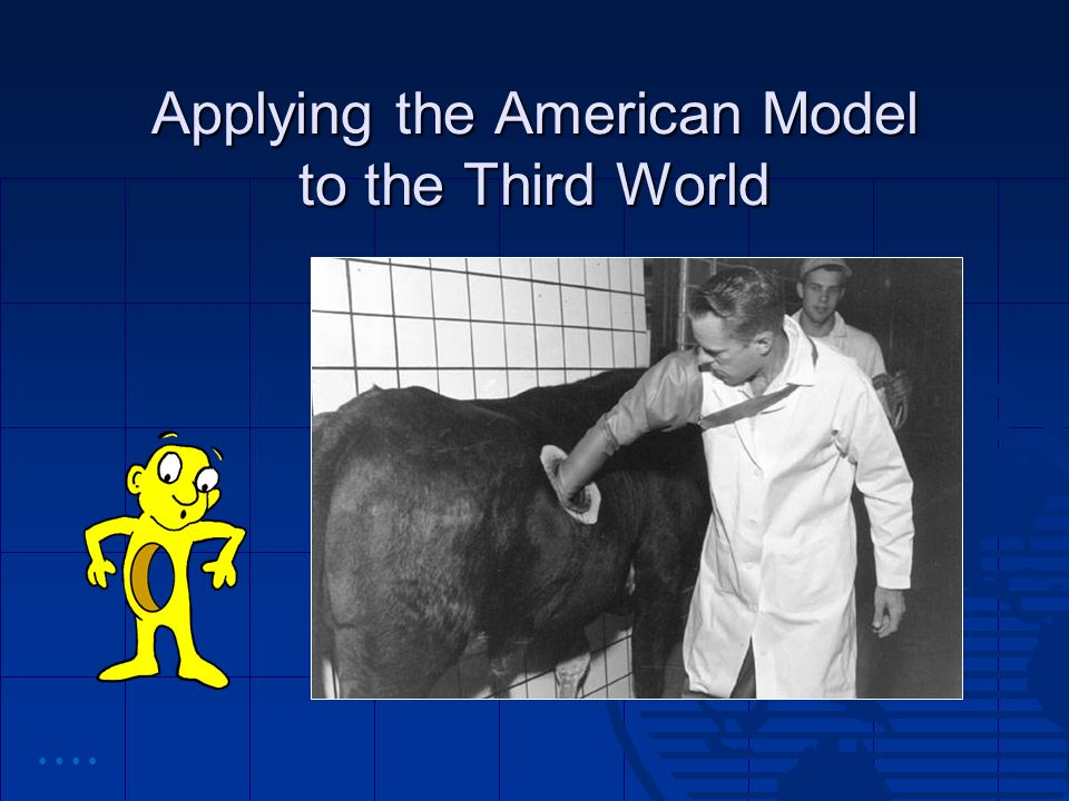 Applying the American Model to the Third World