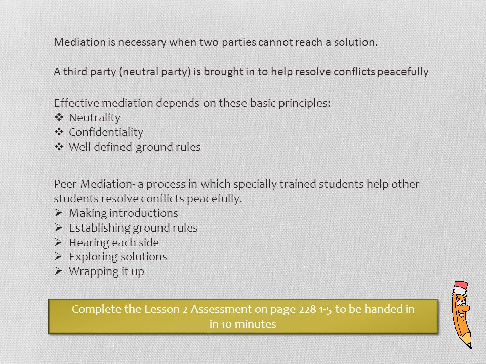 mediation resolving the conflict of racism essay This is a free sample argumentative essay paper on resolving conflicts writing topic free persuasive research essay example about how to resolve a in conclusion, conflict resolution is a very important issue for analysis, because everyone should know about the methods, which can help him solve his.