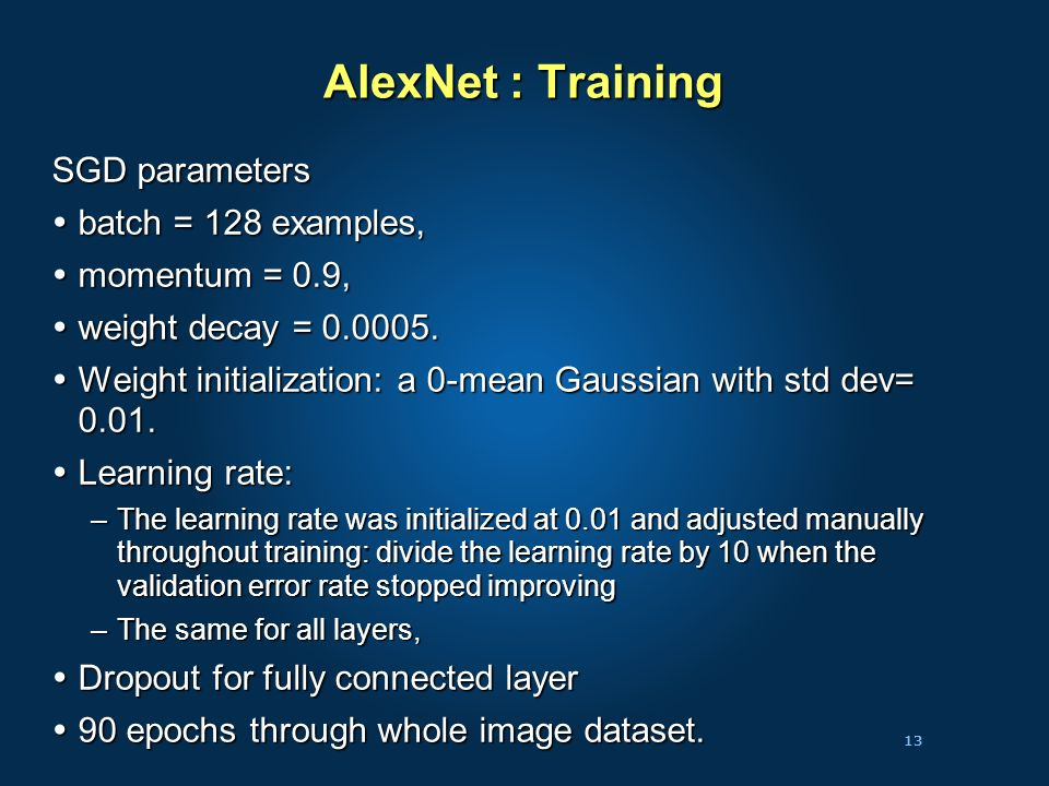 Lecture 4a: Imagenet: Classification with Localization - ppt video