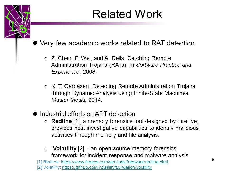 RAT-based APT Detection for Provenance Graph Analytics - ppt video
